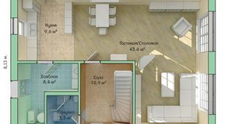 Как начертить план помещения