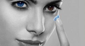 Как чистить контактные линзы