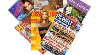 Как открыть глянцевый журнал