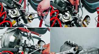 How to disassemble the main brake cylinder