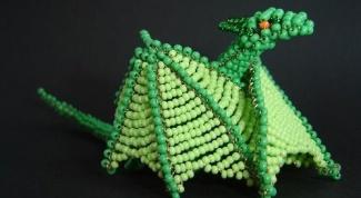 Как сделать игрушку-дракона из бисера