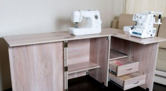 How to make a table for sewing machines