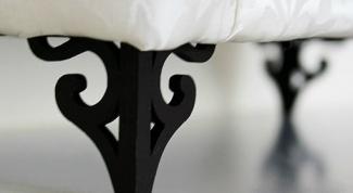 Как сделать ножки для дивана
