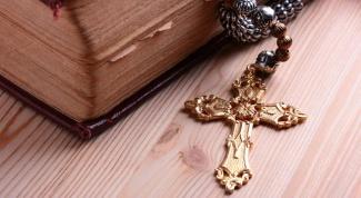 Как освятить нательный крестик