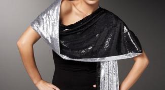 Как носить шарфы-палантины