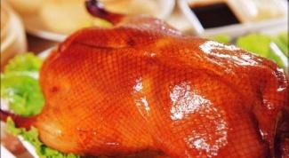 Как украсить блюда из утки