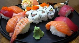 Как лепить суши