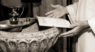 Как провести крестины
