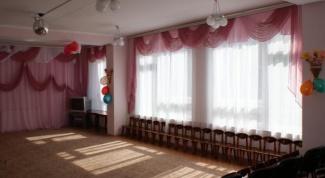 Как украсить музыкальный зал в детском саду