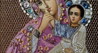 How to consecrate an embroidered icon
