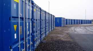 As the customs control of containers