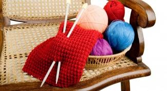 Как закончить вязание резинки