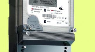 Как снимать показания трехфазного электросчетчика