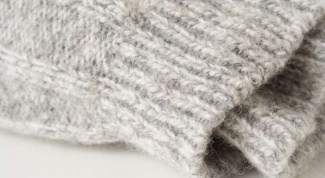 How to knit elastic band
