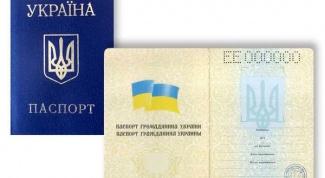 Что нужно для получения паспорта на Украине