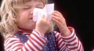 Как снять отек носа у ребенка