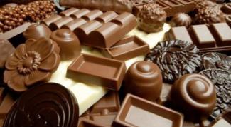 Как хранить шоколадные конфеты