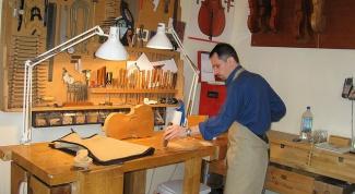 Как изготовить скрипку