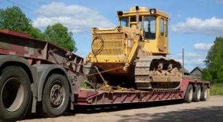 Как перевезти трактор