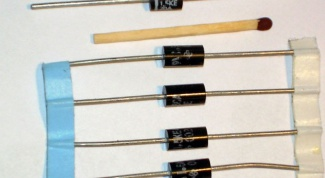 How to identify the anode of the diode