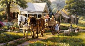Как нарисовать ферму