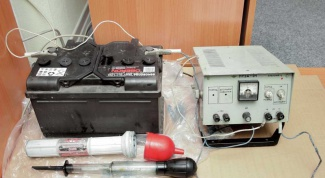 Как зарядить старый аккумулятор
