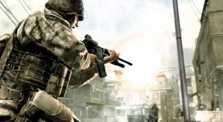 Как играть Call of Duty 4 в гарене
