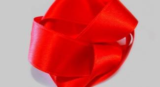 Как делать розочки из атласной ленты