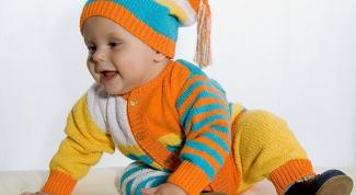 Как связать костюм для малыша