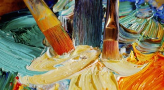 How to start painting with oil
