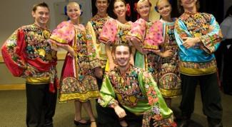 Как сделать русский народный костюм