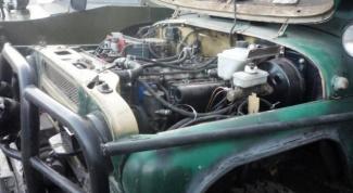 Как установить дизель на УАЗ