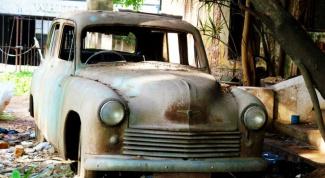 Как избавиться от старой машины