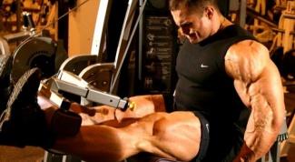 Как высушить мышцы ног