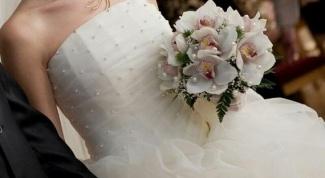 Как отпаривать свадебное платье