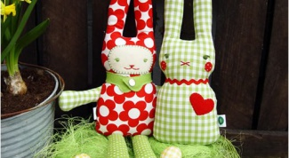 Как делать из ткани игрушки