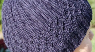 How to close a knitted cap