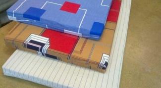 How to sew a mattress