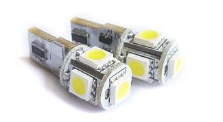 Как заменить габаритные лампочки