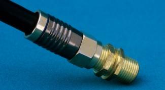 Как обжать антенный кабель
