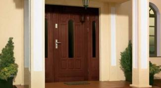 Как установить добор для входной двери