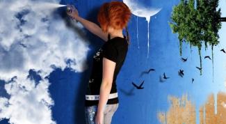 Как покрасить стены в разный цвет