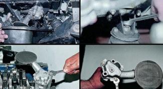 Как заменить масляный насос ВАЗ