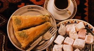 Как приготовить восточные сладости