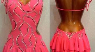 Как сшить платье на латину