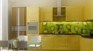 Как закрепить стеновую панель на кухне