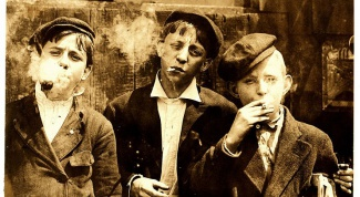 How to wean from Smoking child
