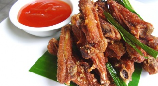 How to cook chicken wings in honey