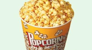 Как сделать карамельный попкорн