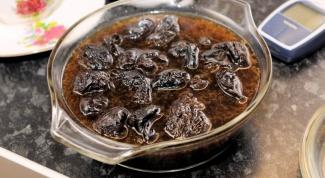 Как приготовить отвар из чернослива